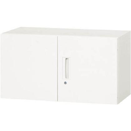 ダイシン 壁面収納庫両開き型上置き専用D450ホワイト V945-05H