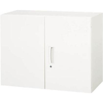 ダイシン 壁面収納庫両開き型上下兼用D450ホワイト V945-07H