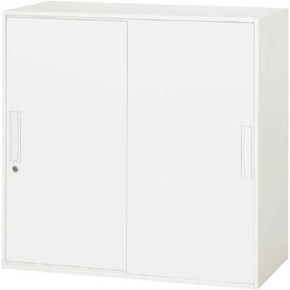ダイシン 壁面収納庫引戸型上下兼用D450ホワイト V945-09S