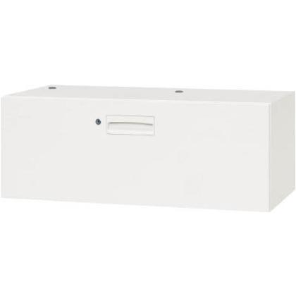 ダイシン 壁面収納庫1段引出型下置き専用D450ホワイト V945-104D