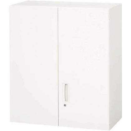 ダイシン 壁面収納庫両開き型上置き専用D450ホワイト V945-10H