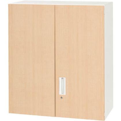 ダイシン 壁面収納庫両開き型上置き専用D450木目柄 V945-10MH