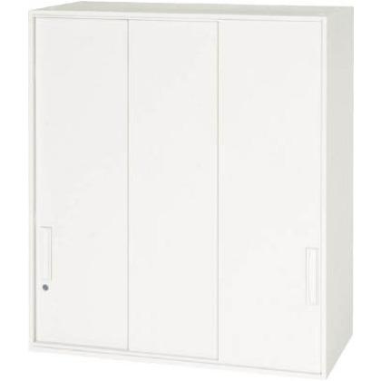 ダイシン 壁面収納庫3枚引戸型上置き専用D450ホワイト V945-10TS