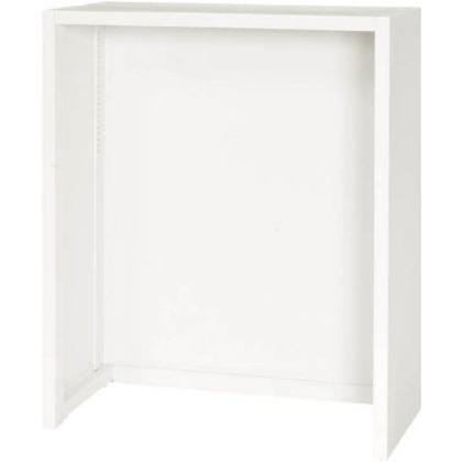 ダイシン 壁面収納庫フリーボックス型下置き専用D450ホワイト V945-11FB