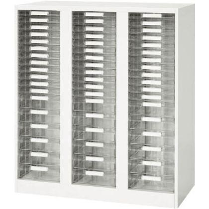 ダイシン 壁面収納庫A4レターケースコンビ型下置き専用D450ホワイト V945-11PSDA