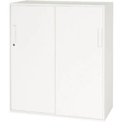 ダイシン 壁面収納庫引戸型下置き専用D450ホワイト V945-11S