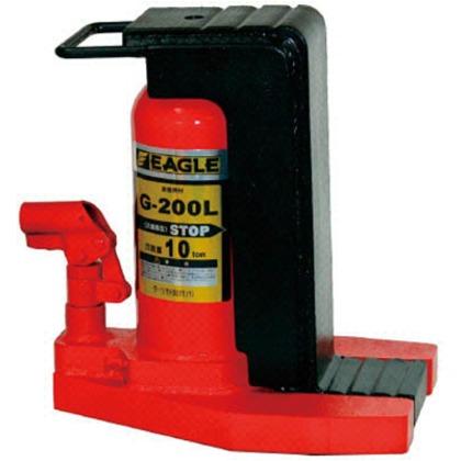 イーグル レバー回転・安全弁付爪つきジャッキ爪能力10t爪ロングタイプ G-200L