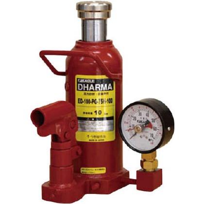 イーグル 置針式ゲージ付油圧ジャッキ能力10t ED-100-PG-75H-100