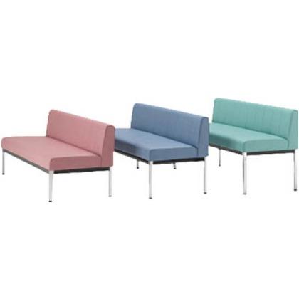 ミズノ 長椅子W1200×D580×H755×SH500ブラック MC1812-SH500-BK