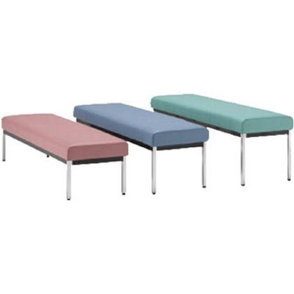 ミズノ 長椅子W1800×D470×H500ブラック MC1828-SH500-BK