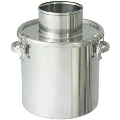 日東 ステンレスタンク粉体回収容器150Aリブ付パイプ10L FK-CTH-24-RP-150A