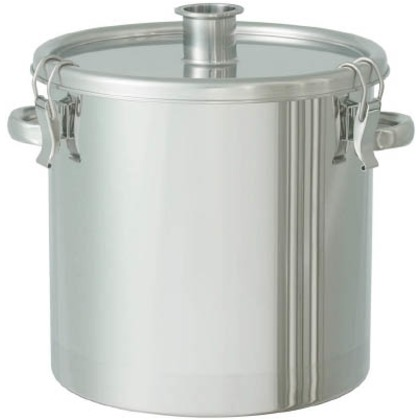 日東 ステンレスタンク粉体回収容器1.5Sへルール付20L FK-CTH-30-F-1.5S