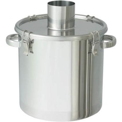 日東 ステンレスタンク粉体回収容器200Aパイプ45L FK-CTH-39-SP-200A