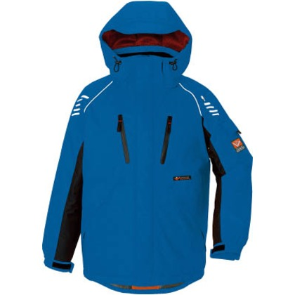 アイトス 防寒ジャケット ブルー3L  AZ-6063-006-3L