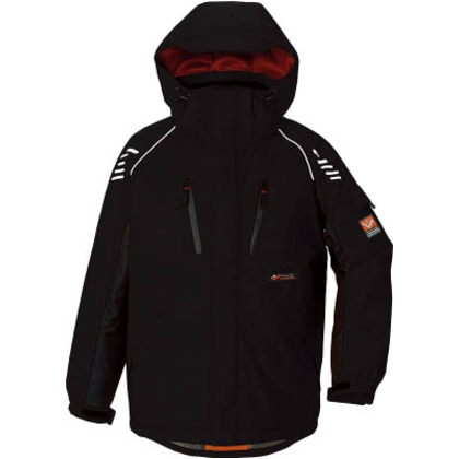 アイトス 防寒ジャケットブラック4L AZ-6063-010-4L