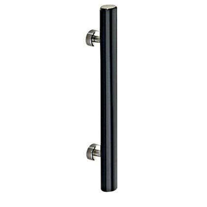 BEST 棒ハンドル 黒 400mm No.G986-400
