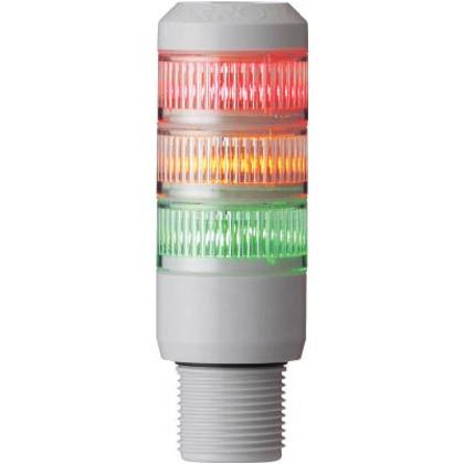 デジタル 赤黄緑 φ30 積層式LED表示灯(直付)  AUSG-24-3-RYG