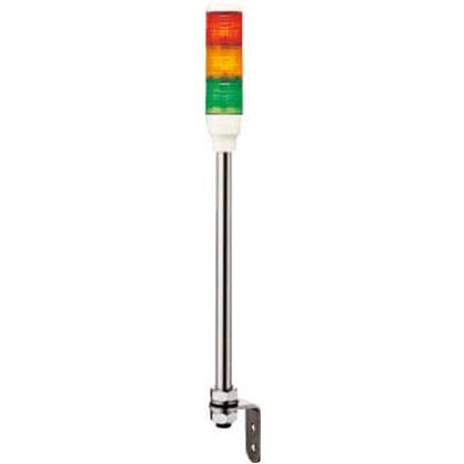 デジタル 赤黄緑(クリアーグローブ) φ40積層式LED表示灯(ポール)  LOUT-24W-3RYG