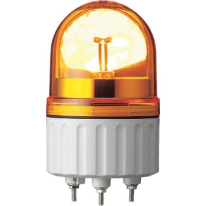 デジタル 黄 φ84 LED回転灯 200V  LRX-200Y-A
