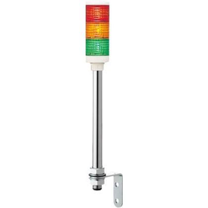 デジタル 赤黄緑 φ60 積層式LED表示灯(ポール)  XVC6B3 RYG