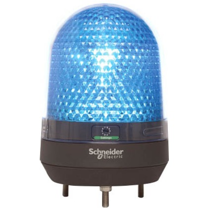 デジタル 青 φ100 LED表示灯 DC12-24V  XVR3B06
