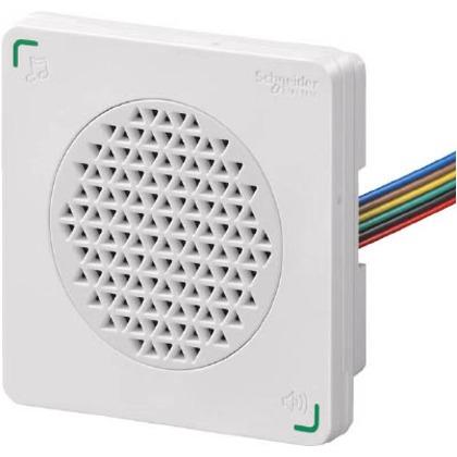 デジタル DIN72 電子音警報器 アラーム・メロディタイプ 白  XVSA7BWN