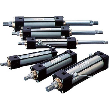 TAIYO 油圧シリンダ 100H-2R1EB100BB500-ABAH2-K 0