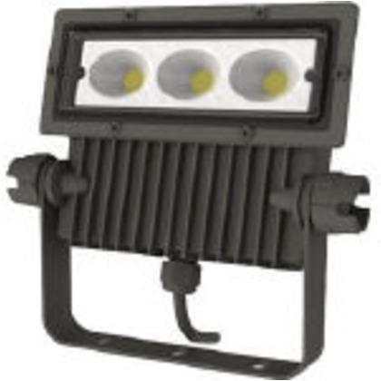 IRIS 角型投光器37W広角4300lmブラック  IRLDSP37N2-W-BK