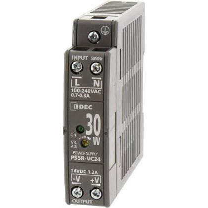 IDEC PS5R-V形スイッチングパワーサプライ(薄形DINレール取付電源) PS5R-VE24