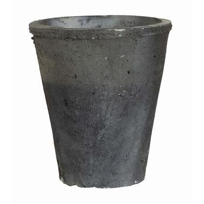 AFFARI OF SWEDEN テラコッタローズポット 公式 M 954-225 大特価 ブラック Φ12.5xH14cm