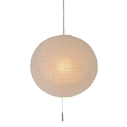 彩光デザイン 和風照明1灯ペンダントライト二重提灯 小梅白in小梅白 Φ390mm×H370mm SPN1-1107
