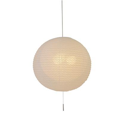 彩光デザイン 和風照明3灯ペンダントライト二重提灯 小梅白iin小梅白 Φ550mm×H500mm SPN3-1102