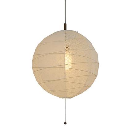 彩光デザイン 和風照明2灯ペンダントライト ツインホワイト Φ450mm×H425mm PN-45