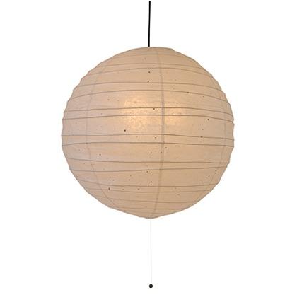 彩光デザイン 和紙照明2灯ペンダントランプ 薄口粕 Φ600mm×H570mm PN-60R