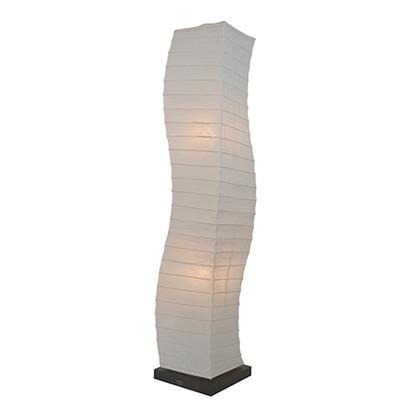 彩光デザイン 和風照明フロアランプ 揉み紙 W210mm×D210mm×H1040m SF-2068