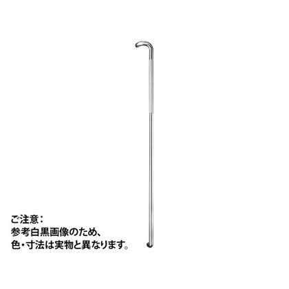 神栄ホームクリエイト ドアハンドル セミロング 鏡面/クリアー 1400mm FHBS2202-27C-14 1 組