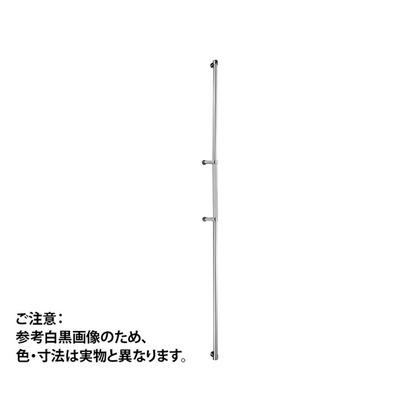 神栄ホームクリエイト ドアハンドル ロング 鏡面/クリアー 2020mm FHBS2215-C-2020 1 組