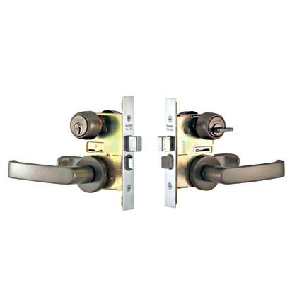SHOWA レバーハンドル錠 アンバー CL-05-50-LH15/S