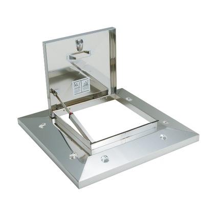 SPG ラクラクハッチ シルバー 開口:600mm OM-61601