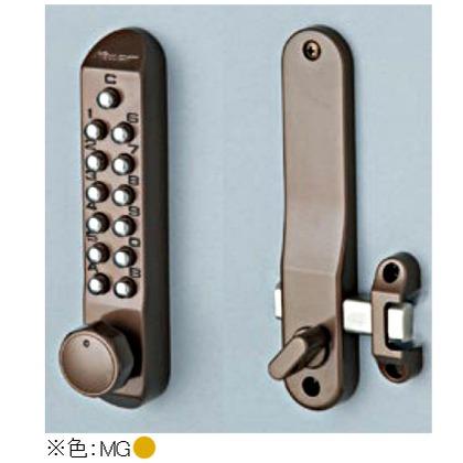 KEYLEX キーレックス500 面付本締錠Sタイプ ノブ メタリックゴールド 22204-9MG