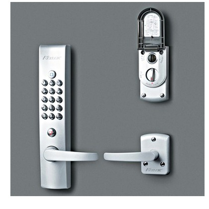 KEYLEX キーレックス4000 自動施錠 プラグ切替 シルバー塗装 K423P AS
