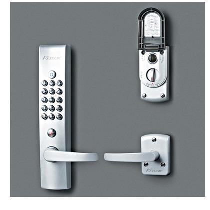 KEYLEX キーレックス4000 自動施錠 プラグ切替 鍵付 シルバー塗装 K423PM AS