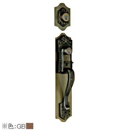 古代 ツーロック取替錠 ジャーマンブロンズ 924509GB