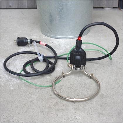DIY FACTORY ストレスフリー投げ込みヒーター ZCRWY-17