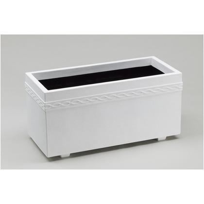 ヤマトプラスチック ホワイトプランター WPL100型  ホワイト