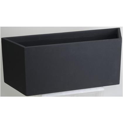 ヤマトプラスチック ファイバーグラス鉢カバー オクタゴン ブラック