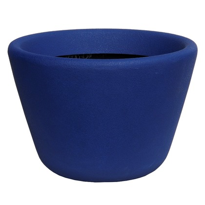 ヤマトプラスチック ファイバーグラス鉢カバー ランプ ダークブルー