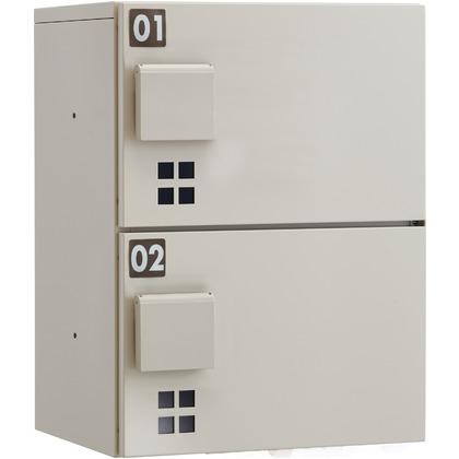 ダイケン ハイツ・アパート向け宅配ボックス(捺印なし) ベージュ系 TBX-E1SS 留守 後付 BOX