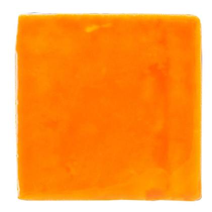 林田順平商店 スペインカラフルタイル オレンジ 9mm×99mm×99mm JHIST-ARTOR スペインタイル カラータイル テラコッタ 5セット