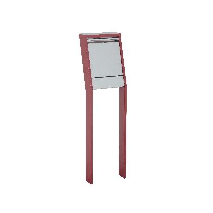 GREET グリートII プラムレッド W365×H1237(1537)×D233mm 322611310